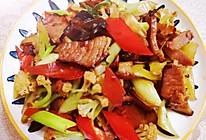 #豆果10周年生日快乐#胡萝卜腊肉炒菜花,越吃越过瘾的做法