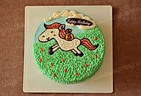 """""""马上有钱""""生日蛋糕#长帝烘焙节#的做法"""