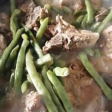 东北炖菜,大骨头炖芸豆