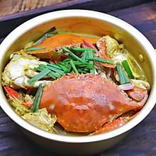 超级下饭咖喱梭子蟹