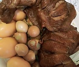 熏鸡腿鸡蛋的做法