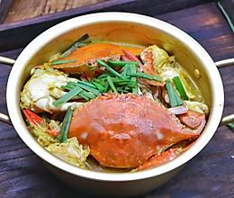 超级下饭咖喱梭子蟹的做法