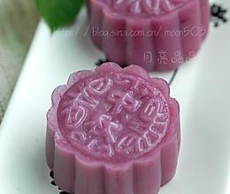 紫薯南瓜冰皮月饼的做法