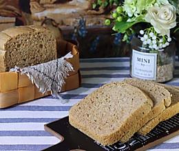面包机版--100%全麦面包的做法