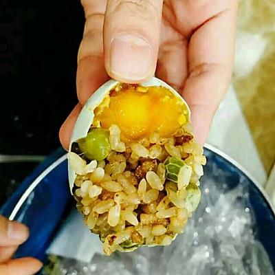 土豪黄金糯米蛋