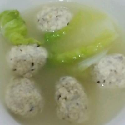 豆腐丸子白菜汤