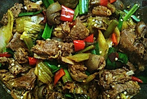 酸辣干锅羊肉的做法