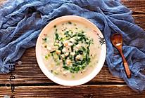 蛤蜊虾仁疙瘩汤的做法