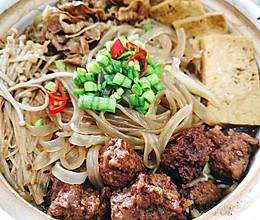 肥牛蔬菜砂锅的做法