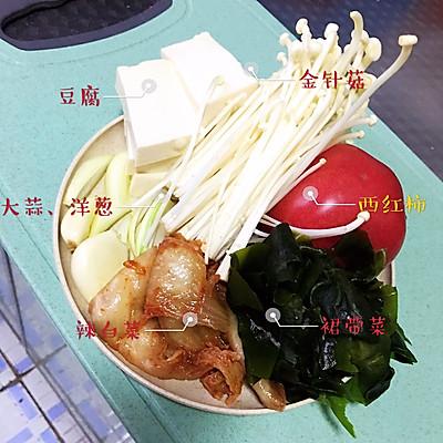 减脂泡菜汤