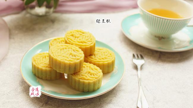 清凉解暑的台式绿豆糕#单挑夏天#的做法