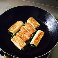 【豆皮蔬菜卷】把路边摊做成私房菜~ 家庭版铁板烤串的做法图解4
