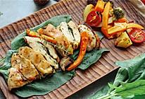芝士菠菜烤鸡胸的做法