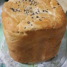 泊翠面包机制作的白土司面包
