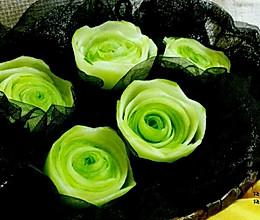 黄瓜绿玫瑰的做法