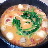 #快手又营养,我家的冬日必备菜品#咖喱鲜虾乌冬面的做法图解4