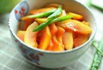 【家的味道】清炒木瓜的做法