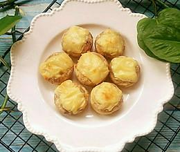 蒜蓉芝士焗口蘑的做法