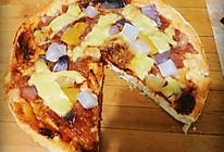 水果培根披萨  微波炉的做法