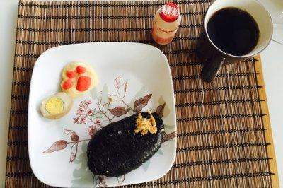 最佳早餐【海苔饭团】