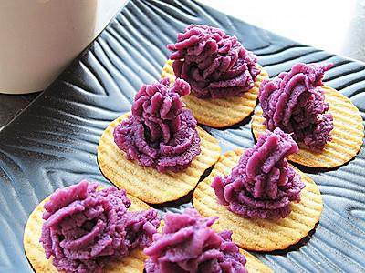 属你健康紫薯泥的做法