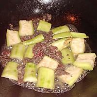 【家乐上菜,家常有味】牛肉炒丝瓜的做法图解4