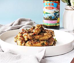 #李锦记旧庄蚝油鲜蚝鲜煮#蒜香鸡翅的做法