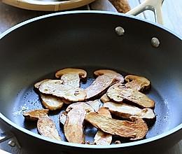 黄油煎松茸 的做法