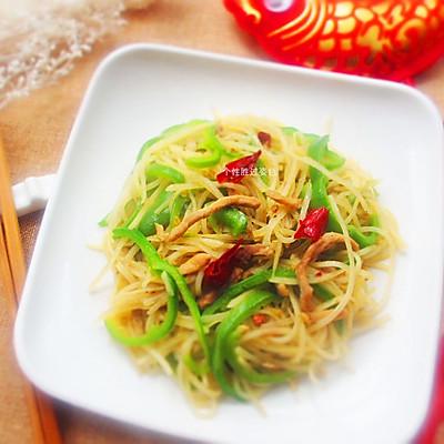 青椒土豆肉丝
