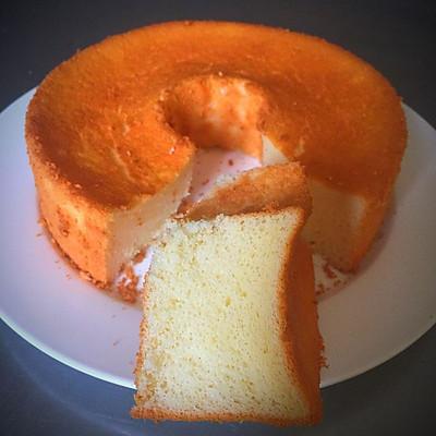 蛋挞液变身戚风蛋糕