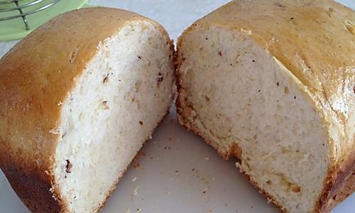 全麦果仁面包/面包机版的做法