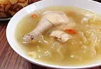 银耳枸杞鸡汤的做法