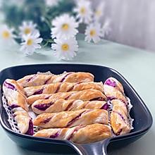 紫薯扭扭酥手抓饼版