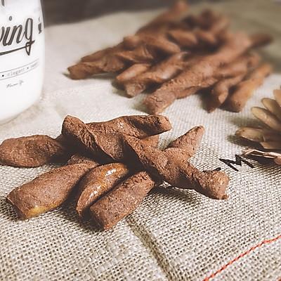 可可巧克力全麦阿拉棒 追剧小零食
