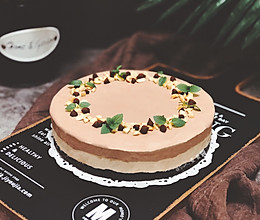 花生巧克力冰淇淋蛋糕的做法