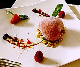草莓&蓝莓爱心慕斯的做法