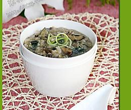 皮蛋杂米粥的做法