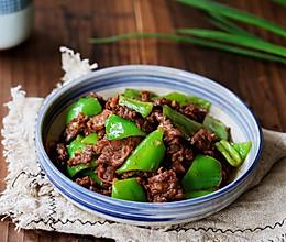 #憋在家里吃什么#牛肉炒青椒的做法