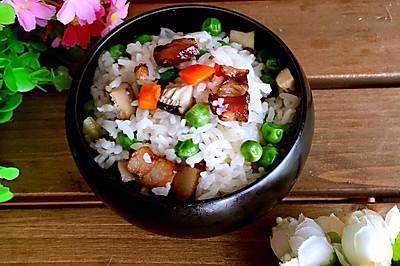 豌豆腊肉焖饭#寻人启事#