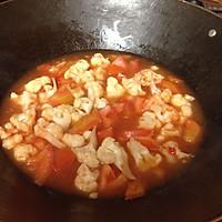 【快手、下饭菜】番茄烩菜花的做法图解5