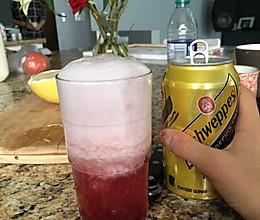 莓果柚子鸡尾酒(无酒精)的做法