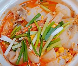 虾头萝卜煲的做法