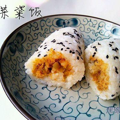 榨菜粢饭—乌江榨菜