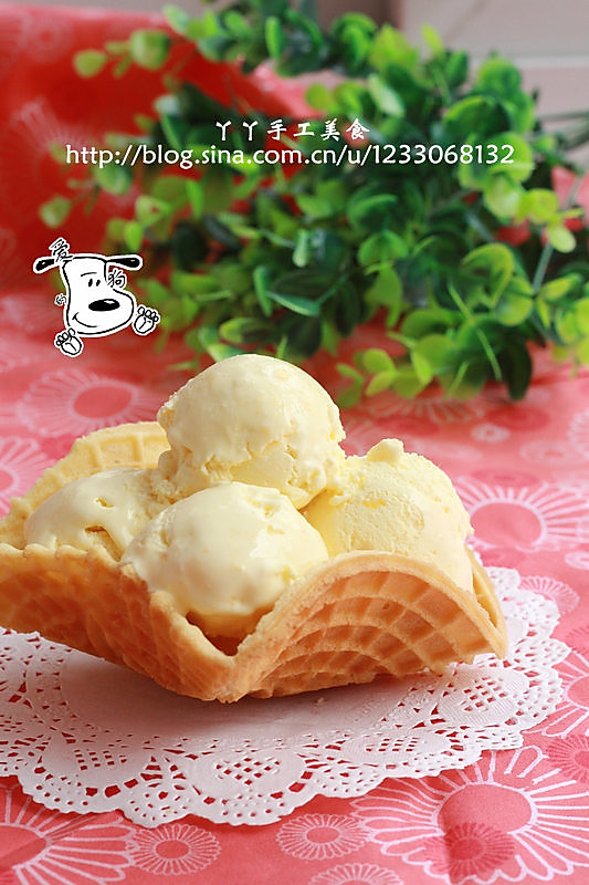 10分钟快手甜品——芒果冰激凌的做法
