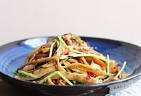 干煸杏鲍菇(自带烧烤味~)的做法