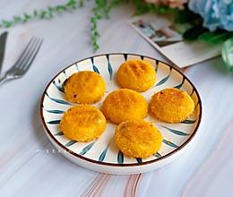 #憋在家里吃什么#剩汤圆变色黄金麻薯的做法