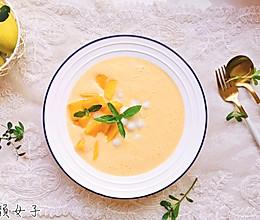 芒果丸子奶昔/清爽又美味的做法