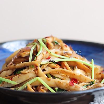 干煸杏鲍菇(自带烧烤味~)