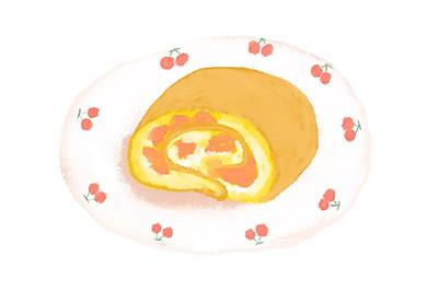 【瑞士卷】于是我就开始把草莓卷着把芒果卷着把奶油卷着…