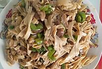 青椒肉丝百叶的做法